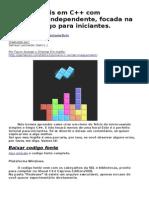 Tetris Tutorial Para Iniciantes