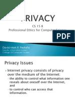 Lesson 2 Privacy