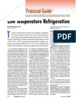 Low Temperature Refrigeration