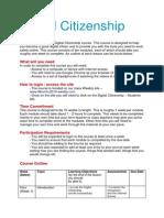 digital citizenship course intro