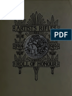 The Artist's Rifles - Regimental Roll of Honour