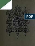 The Artist's Rifles - Regimental Roll of Honour