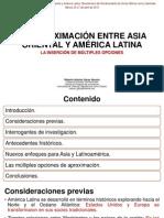 La Aproximacion Entre Asia Oriental y America Latina La Insercion de Multiples Opciones