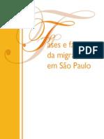 Fases e faces da migração em São Paulo