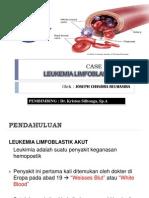Leukemia Limfoblastik Akut - Case Report Lla Pada Anak-Anak