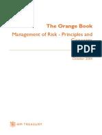 Orange Book Management of Risk