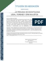 Constitucion Asociacion SPOLFOC