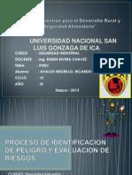 Proceso de Identificacion de Peligro y Evaluacion De