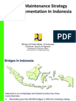 113746492 Bridge Maintenance Strategy and Implementation in Indonesia ENG Iwan Zarkasi