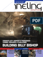 Billy Bishop Airport Pedestrian Tunnel Article - North American Tunnelling Journal October - November 2013