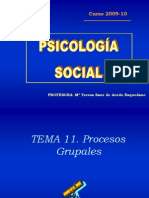 Tema 11 (Psicologia Social)