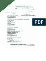 JWG Restraining Order and FEC Complaint Jan 22 2014 PDF