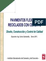 Pavimentos Reciclados Con Cemento 2011