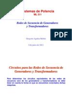 Fallas Asimétricas - Redes de secuencia CERO -09.06.2012