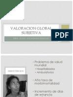 Valoracion Global Subjetiva