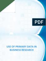 primary Data in BR