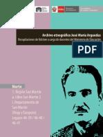Arguedas, José María. Libro San Martín 2 Rioja-Tarapoto