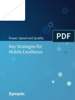 Xamarin Whitepaper-Key Strategies for Mobile Excellence