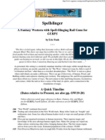 Pyramid Magazine - Spellslinger,