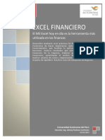 Excel Financiero - Universidad Autonoma