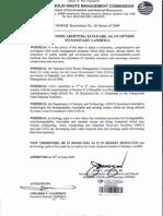 Nswmc Reso 26-Adopt Ecopark Option to Slf