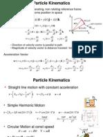 Summary Dynamics(1)
