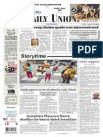 The Daily Union. January 23, 2014