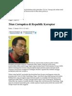 Trias Corruptica Di Republik Koruptor