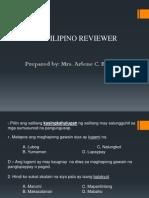 Filipino Reviewer sa LET