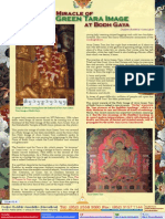 Lake of Lotus (4)-Recent Holy Miracle of the Arya Green Tara Image at Bodh Gaya-Dudjom Buddhist Association