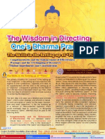 Lake of Lotus (4)-The Wisdom in Directing One's Dharma Practice (4)- The Skills in the Setting-Up of Plans-By Vajra Master Pema Lhadren-Dudjom Buddhist Asso