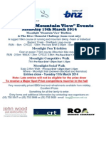 Moonlight Mountain View Events Entry 2014