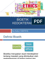 Prinsip-prinsip Bioetik Kedokteran Ime