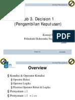 3 Decision