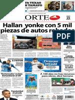 Periódico Norte edición impresa día 23 de enero 2014