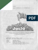 Sharkey, Paul - The Friends of Durruti, A Chronology