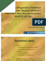52523395 Prezentare SCID Si DSM 09mai10