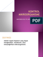 Kontrol Mikroorganisme Dr.ruri