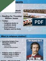 Lecture 2 2014 'Religion'