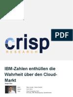 IBM-Zahlen enthüllen die Wahrheit über den Cloud-Markt
