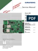 Grundig 32 LXW 82-8600 Service Manual