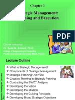Strategic Management - Planning