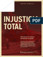 Injusticia Total - Total SA en el Sahara