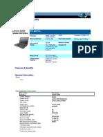 Lenovo 3000 Notebooks - NSH28xx