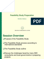 Feasibility Study Preparation