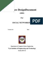 Design Document Format