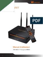 Dane-Elec, So-Smart, Disque Dur Multimédia Haute-Définition, Wifi 802.11 b/g  Manuel d'utilisateur