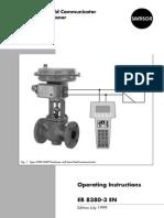 control valve manual