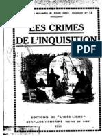 Les crimes de l'Inquisition