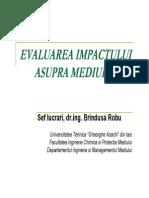 Evaluarea impactului